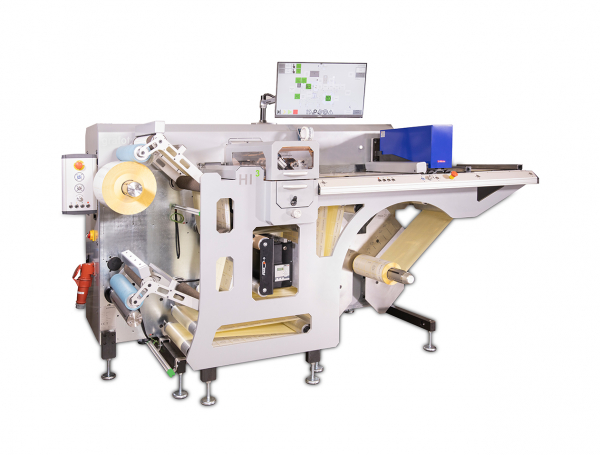 Grafotronic HI3 Inspection Slitter / Rewinder